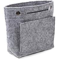 VACANZA バッグインバッグ フェルト 小さめ 軽量 コンパクト A5 サイズ 7色 レディース インナーバッグ バッグ内整理
