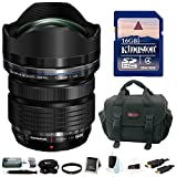 Olympus M.Zuiko Digital ED 7-14mm f/2.8 PRO Lens w/ 16GB SD Card & Accessory Bundle [並行輸入品]