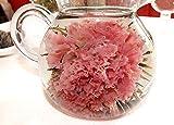 「母の日」 【大きなカーネーションのお花が咲く 工芸茶 3粒入り】