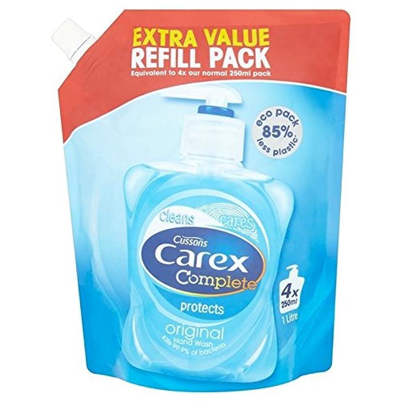 バット利益偽装するCarex Original Refill Pack 1L - スゲオリジナルリフィルパック1リットル [並行輸入品]