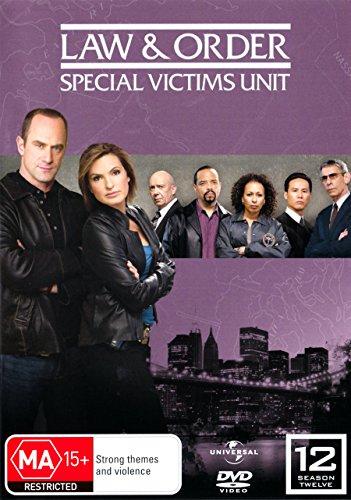 Law and Order SVU Season 12 (Special Victims Unit) English Cover Region 2