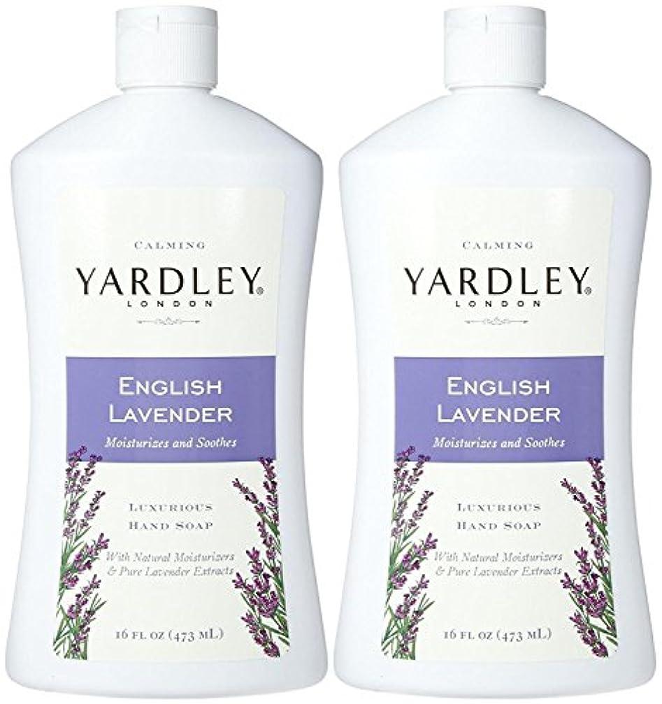 待つプラス引き付けるYardley London Liquid Hand Soap - English Lavender - 16 oz - 2 pk by Yardley London [並行輸入品]