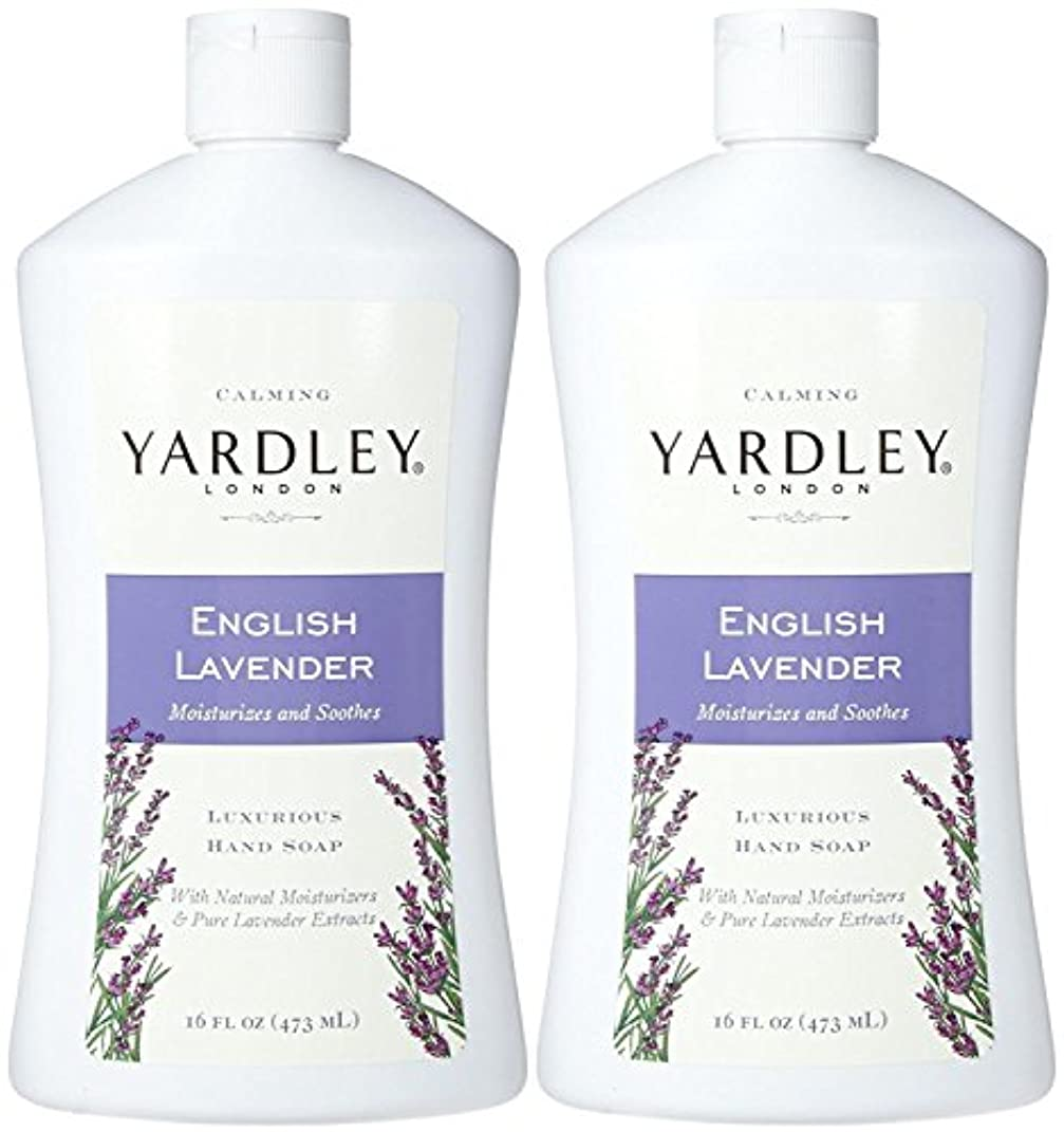 結晶部族企業Yardley London Liquid Hand Soap - English Lavender - 16 oz - 2 pk by Yardley London [並行輸入品]