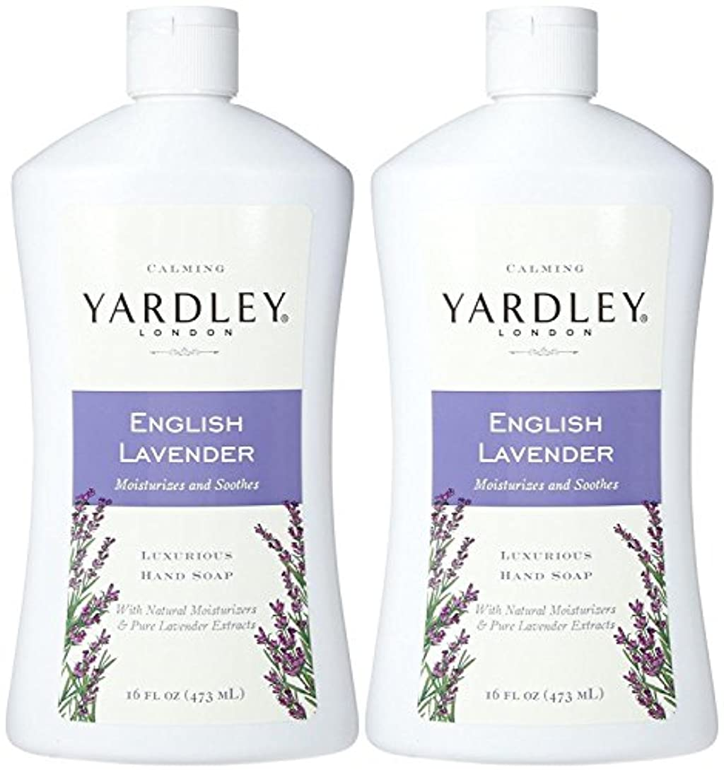 集まる噴水文法Yardley London Liquid Hand Soap - English Lavender - 16 oz - 2 pk by Yardley London [並行輸入品]