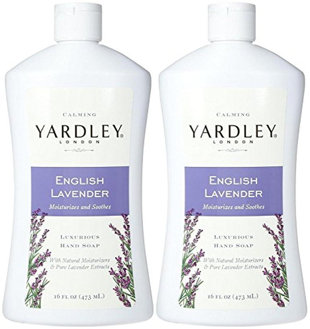 ボトル落とし穴ファイルYardley London Liquid Hand Soap - English Lavender - 16 oz - 2 pk by Yardley London [並行輸入品]