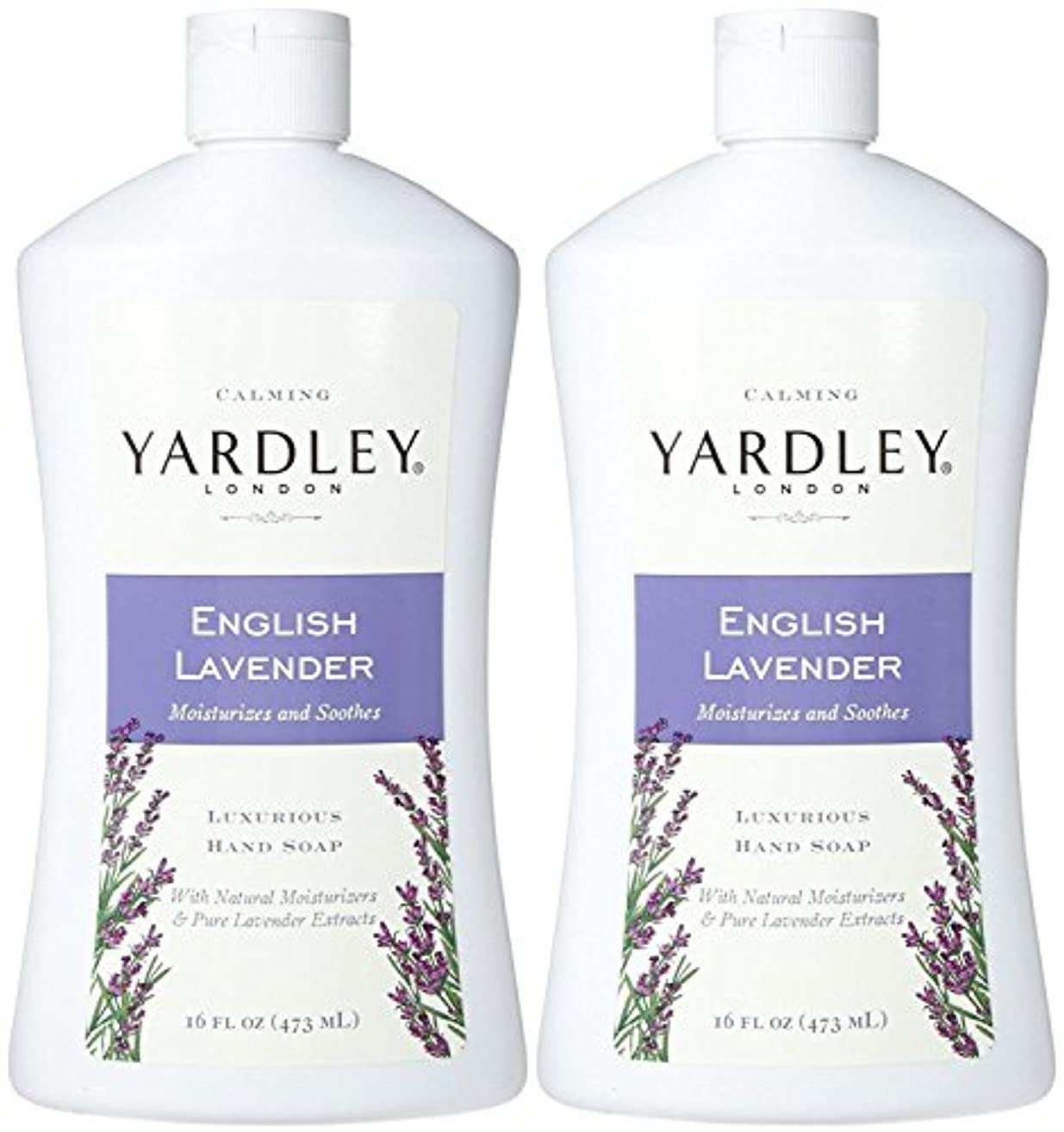 残忍なペルーハンバーガーYardley London Liquid Hand Soap - English Lavender - 16 oz - 2 pk by Yardley London [並行輸入品]