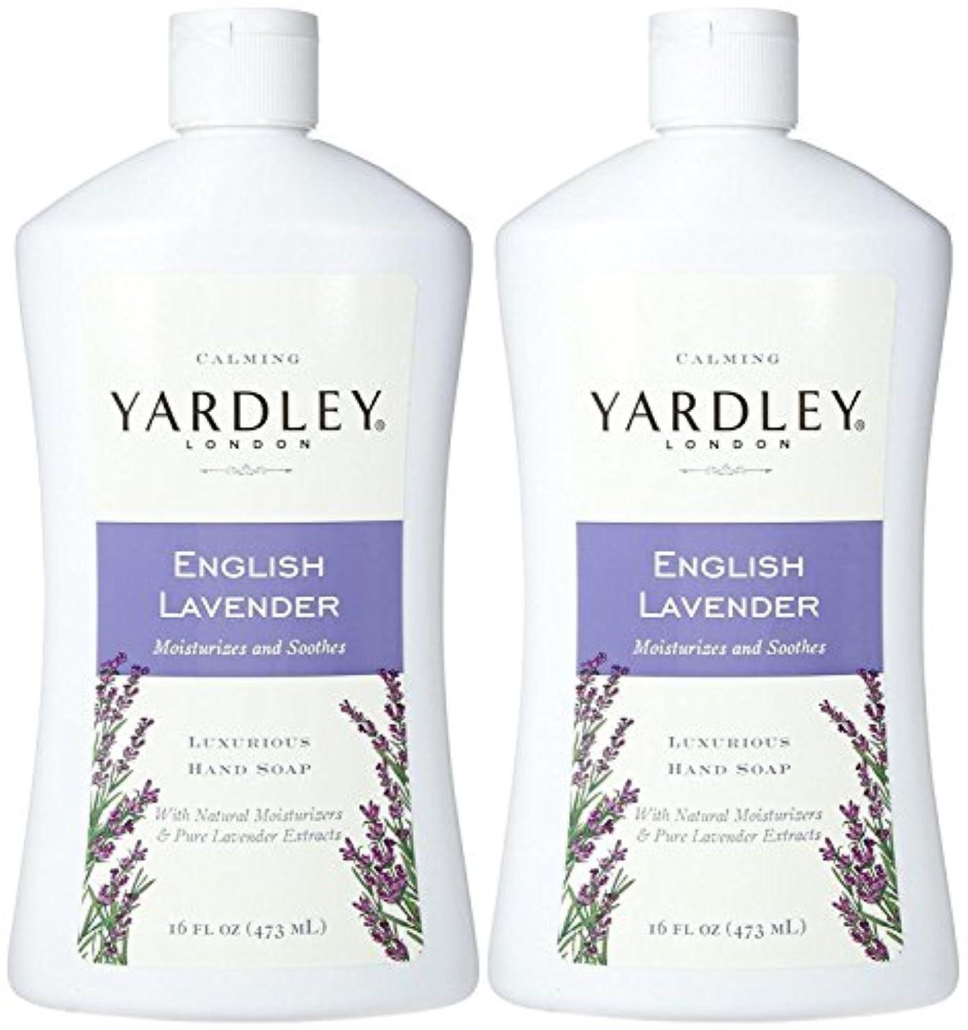 沼地白菜コードYardley London Liquid Hand Soap - English Lavender - 16 oz - 2 pk by Yardley London [並行輸入品]