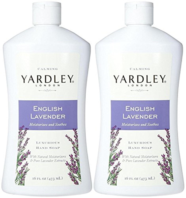 Yardley London Liquid Hand Soap - English Lavender - 16 oz - 2 pk by Yardley London [並行輸入品]