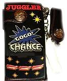 ジャグラー 光るウォレット 長財布 [777柄] GOGO!ランプ GOGO!CHANCE マーク 財布 パチスロ スロット グッズ