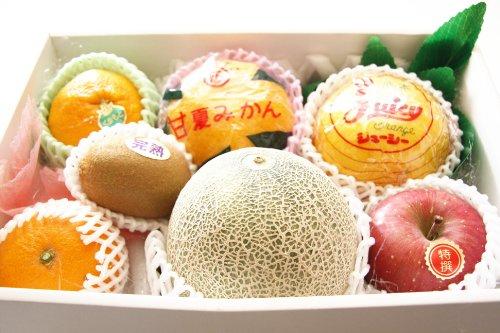 フルーツギフト 果物盛り合わせ 詰め合わせ セット (中)