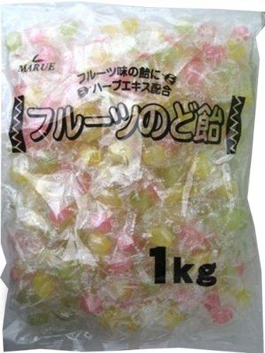 マルエ製菓 フルーツのど飴 1kg