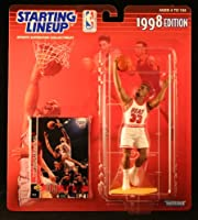 1998 ALONZO MOURNING MIAMI HEAT (NBA) -Starting Lineup- アクション・フィギュア- & NBA Collector トレーディングカード