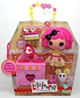 Crumbs Cookie Party–Large Lalaloopsy Sew Magical Doll andキッチンセット