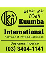 KUUMBA / クンバ『incense』(WIPE ME DOWN) (Regular size)