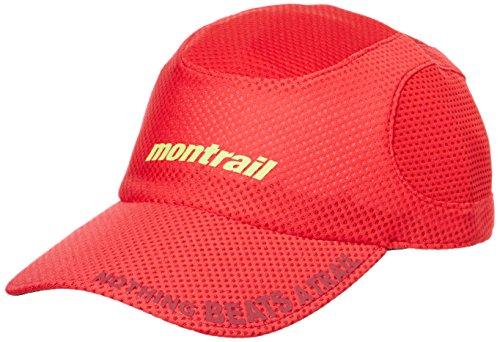 (モントレイル)montrail(モントレイル) ナッシングビーツアトレイルランニングキャップ2 XU1089 691 ブライトレッド O/S