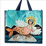 Allen Designs merm-angel Artisticショッピングバッグ