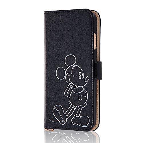 iPhone6/6s ディズニーホットスタンプブックレザーケ...