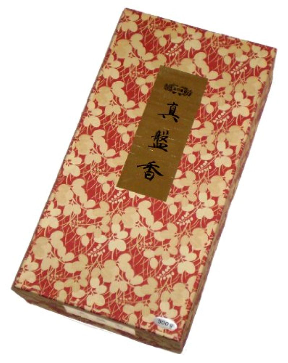 滝ボタンタイピスト玉初堂のお香 真盤香 500g #611