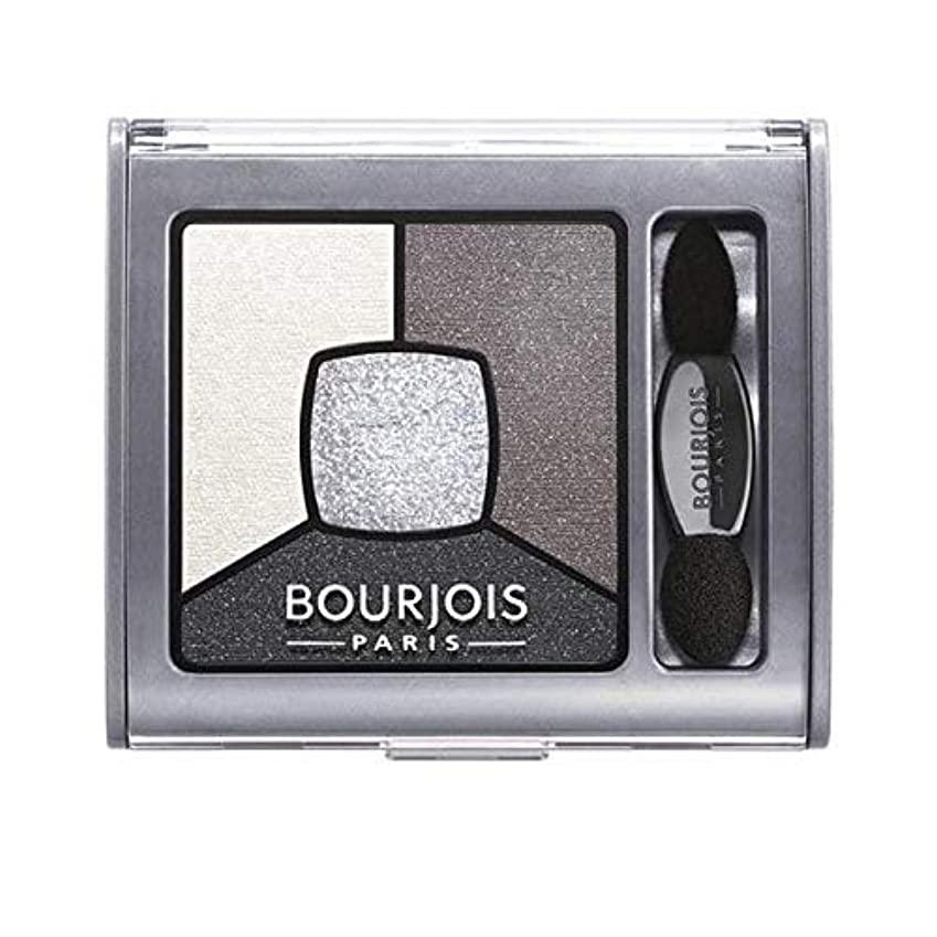 [Bourjois ] ブルジョワクワッドスモーキー物語はグレー&ナイトアイシャドウ - Bourjois Quad Smoky Stories Eyeshadow Grey & Night [並行輸入品]