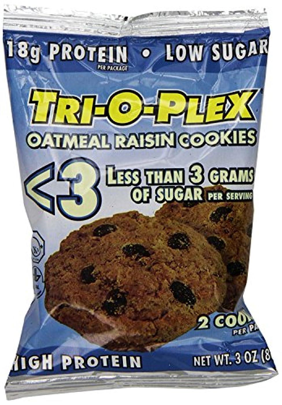 独立した窒素残酷トリ?オ?プレックス (クッキーズ  オートミール?レイズン(3グラム未満の砂糖)  12包)