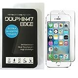 DOLPHIN47 EDGE ブルーライトカット 液晶保護フィルム ガラスフィルム iPhone SE iPhone5 iphone5s iphone5c 対応 ブルーライト 90% カット 日本製素材使用