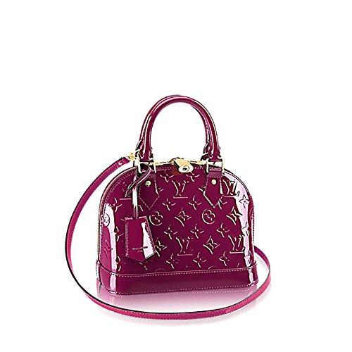 Louis Vuitton Monogram VernisレザーアルマBBクロスボディーCarryハンドバッグArticle : m50565マゼンタ