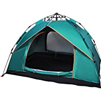 Haibei キャンプテント 2人用テント ワンタッチテント 設営簡単 高通気性 紫外線カット 防雨・防風 キャンプ用品 アウトドア 登山 折りたたみ 収納ケース 日本語説明書付き