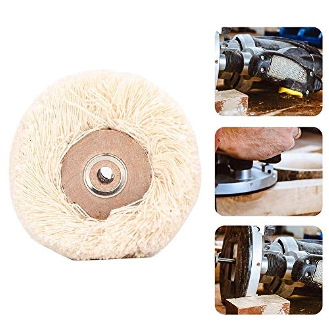 クスコ民間人お尻研磨ヘッド 回転工具 研磨ドリルグラインダーホイールブラシジュエリー研磨工具(M)