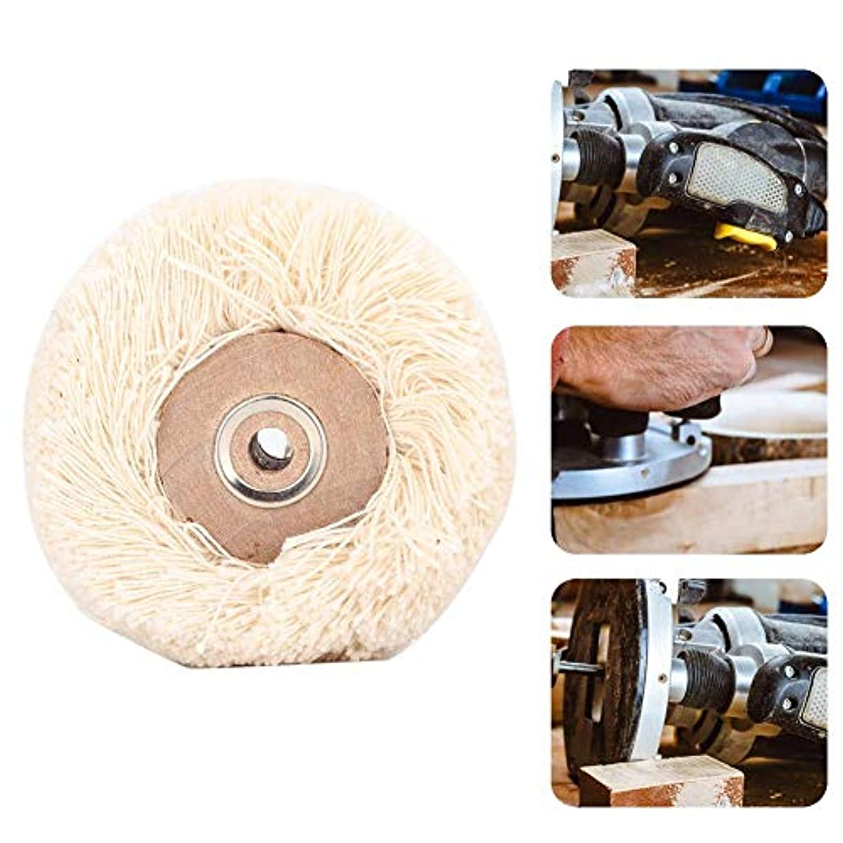 不明瞭有益な重さ研磨ヘッド 回転工具 研磨ドリルグラインダーホイールブラシジュエリー研磨工具(M)