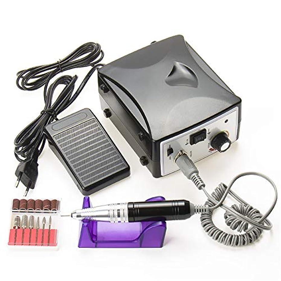 固体ヒロイックステートメントネイルポリッシュドリルビットペディキュアキット30000RPM用電気ネイルアートドリルマニキュアマシン