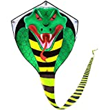 Cobra Kite for Kids Adults Large by Mint's Colorful Life
