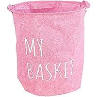 バッグを洗濯ピンク折り畳み式のランドリーバッグ