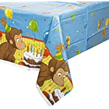 Curious George Plastic Tablecover ジョージ?プラスチックTablecoverおさる