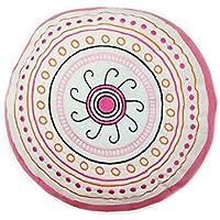 One Grace Place Sophia Lolita Decorative Pillow, White, Pink, Berry, Orange, Black by One Grace Place [並行輸入品]