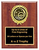 Racing Plaque Awards 7 x 9 Wood Stock Car Trophies Go Kart Race Trophy Free Engraving