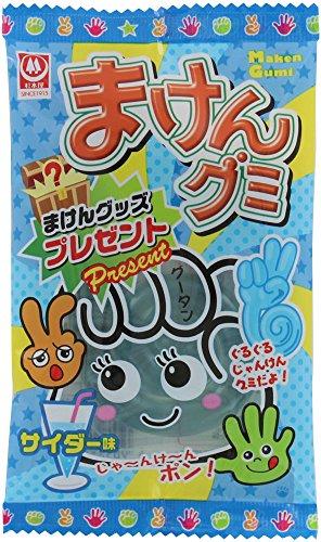 杉本屋製菓 まけんグミ サイダー味 15g×20袋