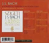 J.S.BACH/ 6 SONATAS & PARTIATS FOR VIOLIN SOLO