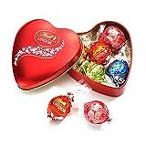 リンツ Lindt チョコレート バレンタイン リンドール ハート缶 5個入り