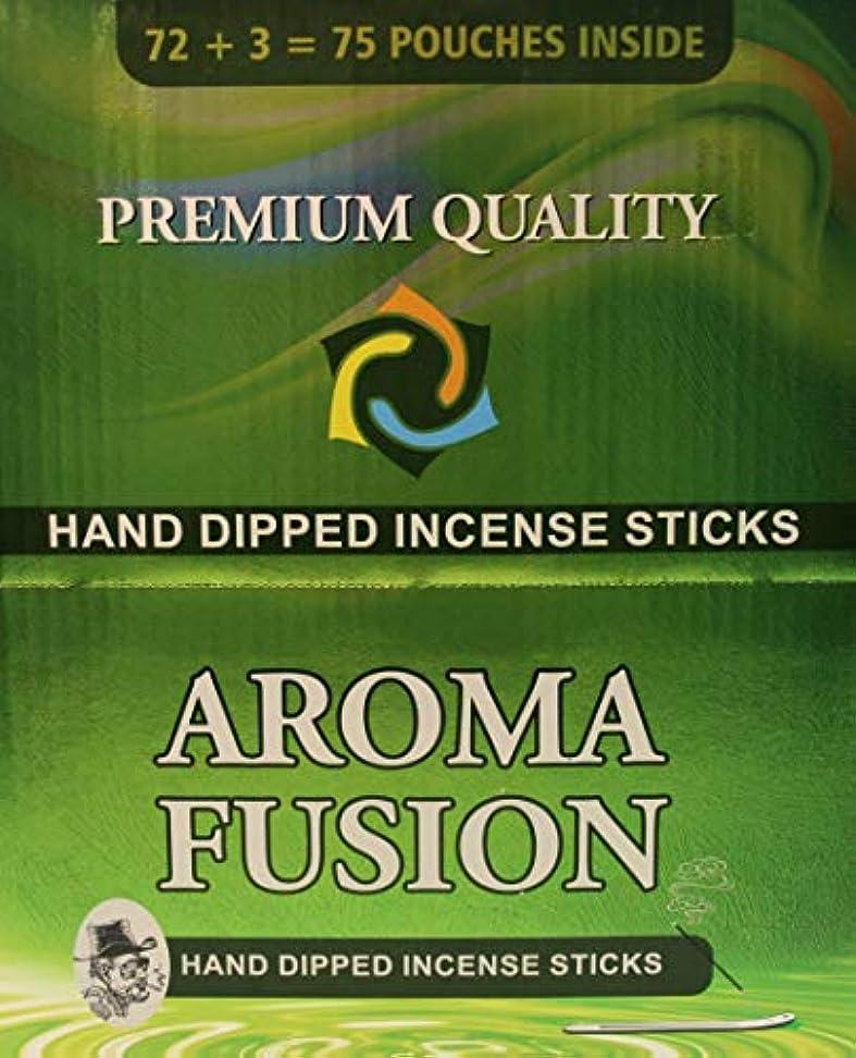 ゲストピカソ外出アロマフュージョンプレミアム品質手染めお香スティック | 75種類ポーチ | 合計1,125本 | 20種類の香り | お香ディスプレイケース