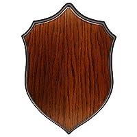BushWear Solid Oak Small Roe Shoulder (Hare) Mount Shield