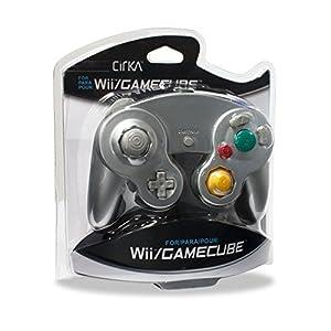 Wii/CUBE Cirka Controller (Silver)