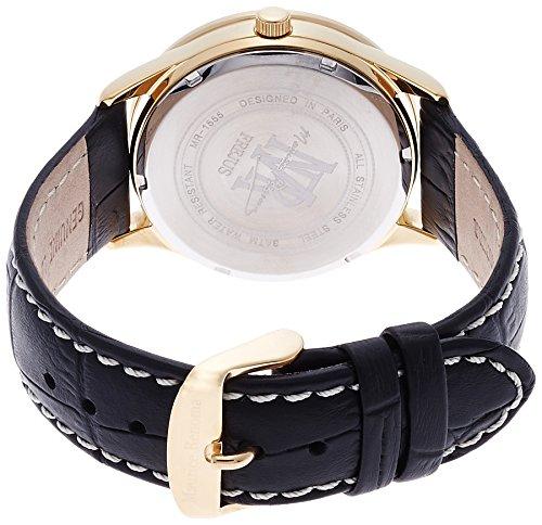 [モーリスレノマ]Maurice Renoma 腕時計 フレジュス アナログ表示 日付表示 3気圧防水 ネイビー MR-1515 NAVY メンズ 【正規輸入品】