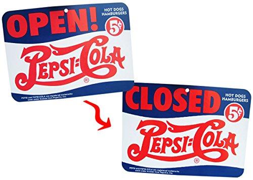 PEPSI OPEN/CLOSED SIGN BOARD B...