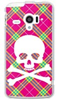SECOND SKIN スカルパンク ピンク (クリア) / for AQUOS PHONE ZETA SH-06E/docomo DSH06E-PCCL-201-Y218