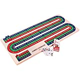 S&S Worldwide W9994 Jumbo Foam Cribbage Board [並行輸入品]