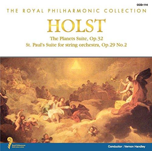 ホルスト 組曲「惑星」 作品32 セント・ポール組曲 作品29-2 CCD-114