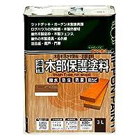 ニッペ 油性木部保護塗料 3L スプルース