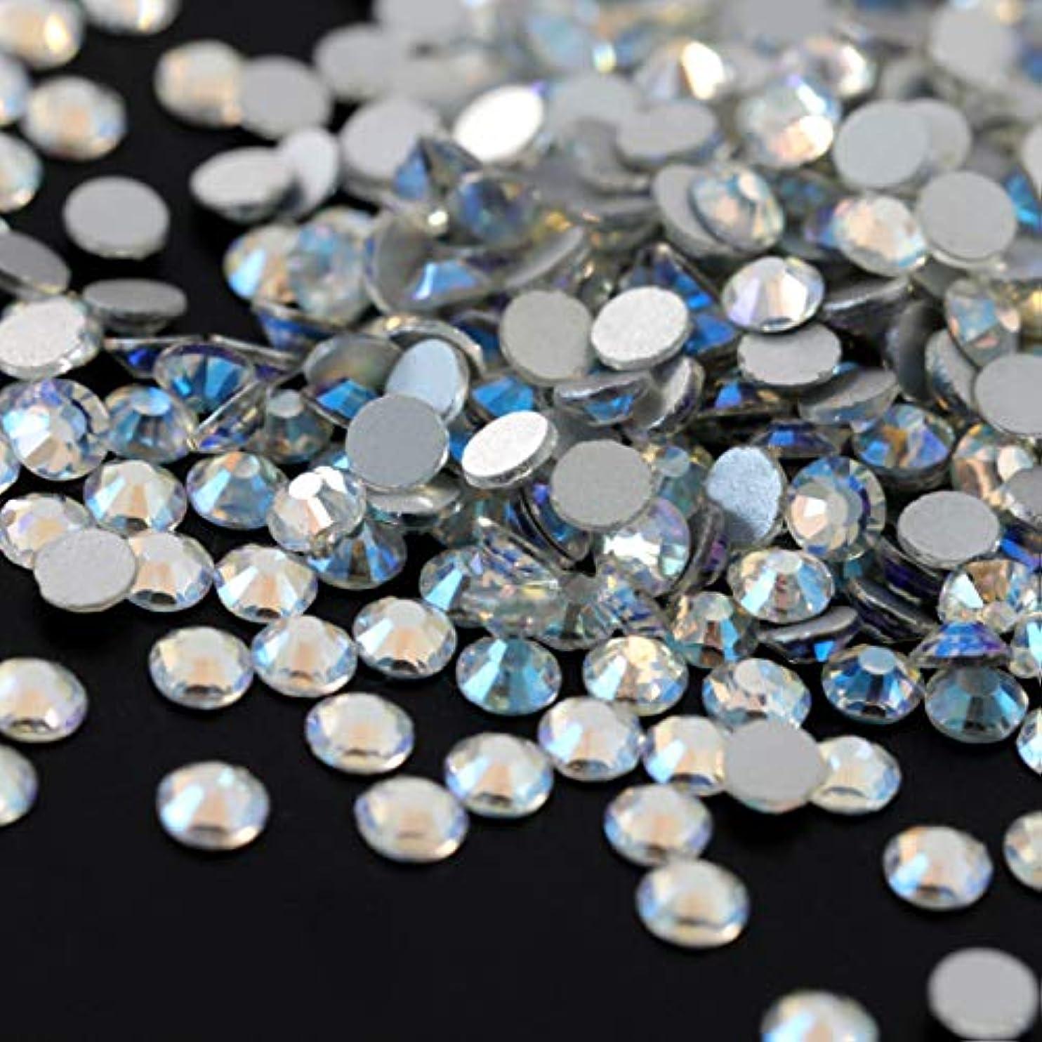 彼らのせせらぎ進化【ラインストーン77】高品質ガラス製ラインストーン 色/サイズ選択可 SS3~SS50 スワロフスキー同等 (ノーザンライツ, SS20:約4.7mm(約120粒))