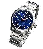 [セイコー パルサー]SEIKO PULSAR 100m防水 クロノグラフ メンズ 腕時計 PT3813 [並行輸入品]