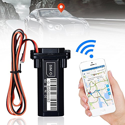 Liebeye GPSトラッカー 車 リアルタイム GSM 警報 盗難防止 追跡デバイス 車/自動車/オートバイ